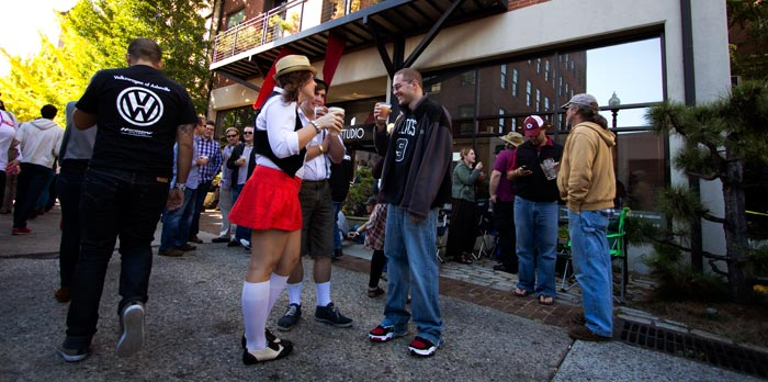 Oktoberfest Becoming an Asheville Tradition