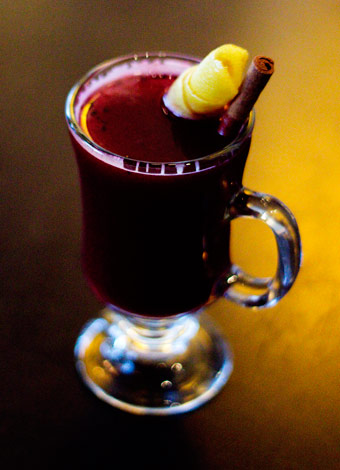 Hot Mulled Blueberry