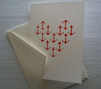 Anchor Love Card